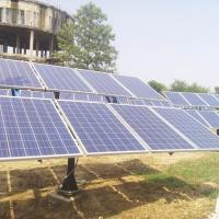22kW AC Hybrid Solar Pumping System With Grid Utility 380V Output Voltage Manufactures