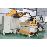 Hydraulic Expansion NC Servo Feeder with Decoiler And Straightener With Taiwan Hai teck Man-Machine Interface Manufactures