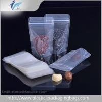 PET / PE Plastic Ziplock Bag Clear Nut Candy Cookie Package Dry Food Grade Bags Manufactures