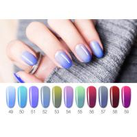 Healthy Resin Materials Color Changing Gel Polish / Uv Gel Nail Paint Manufactures
