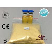 China 99.6% Purity Tren Anabolic Steroid Yellow Powder Tren Hexahydrobenzylcarbonate For Athletes on sale
