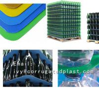China Eco-friendly moisture-proof Plastic pallet layer pad on sale