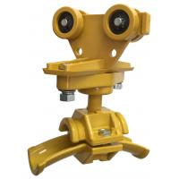 Round Cable Festoon Trolley for C Track Festoon System , c rail festoon system Manufactures