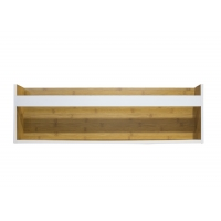 15KG 80cm Wide Wall Hanging Wooden Rack Manufactures