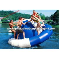 Quality Giant Saturn Inflatable Water Rocker Floating Summer Fun For Kids And Adults for sale
