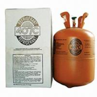 R407C Refrigerant Gas, Mixed Fluorine Refrigerant, R22 Replacement, Purity 99.9%, OEM Accepted Manufactures