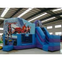 Kids Indoor / Outdoor Spiderman Commercial Inflatable Sports Games Bouncy Castle Manufactures