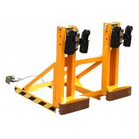 465 - 690 Adjusting Height Drum Clamp Attachment with Black Gripper Manufactures