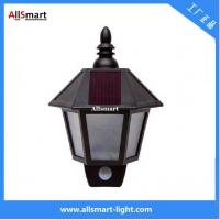 Solar Wall Lights ASC-008 Hexagonal Body Sensors Wall Lamp Wall Sconce Aisle Light Beautiful Garage Door Garden Lamp Manufactures
