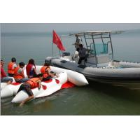 Quality Red 380cm Length Six Person Inflatable Flying Fish Boat With 10 Chamber for sale