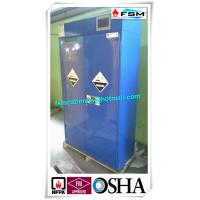 Safety Acid Corrosive Storage Cabinets With Touch Screen For Chemical Liquid Manufactures