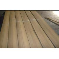 Quality Furniture Quarter Cut Veneer , Burma Teak hardwood veneer sheets for sale