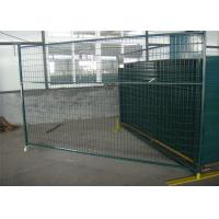 "Quality 6'X9.6' temporary construction fence frame 1.6""/40mm brace1.2""/30mm and 16ga for sale"