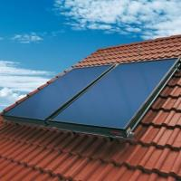 Eco friendly blue tinox flat plate solar collector Manufactures