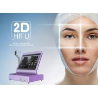 Portable HIFU Facelift Machine Anti - Wrinkle High Intensity Focused Ultrasound Hifu Manufactures