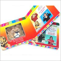 Quality OEM / ODM full color paper board educational Childrens Book Printing for boys and girls for sale