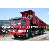 factory direrct sale price howo 8*4 40ton sand dump truck, SINO TRUK HOWO brand 40tons RHD dump truck for sale Manufactures