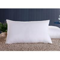 Polyester Fiber Hotel Standard Comfort Pillows , Hotel Collection Decorative Down Pillows Manufactures