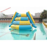 Durable Kidwise Inflatable Jumper Water Slide / Inflatable Swimming Pool Slides Manufactures