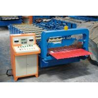 3KW 380V Trapezoidal Sheet Roll Forming Machine For Steel Wall Panel Making Manufactures
