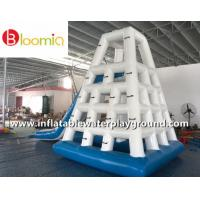 Quality Commercial Inflatable Water Games Jungle Joe With Slide For Lake Or Ocean for sale