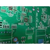 Buy cheap High Precision Rigid Sided PCB Board Assembly Thickness1.6mm FR4 Material With 2-layer Green Solder Mask from wholesalers