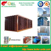 Electrical Water CFB Boiler Economizer Power Plant , Steam Boiler Economizer Manufactures