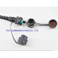 Quality Chemical Resistant Fiber Optic Patch Cable ODVA - MPO 2 Cores Outdoor FTTA Usage for sale