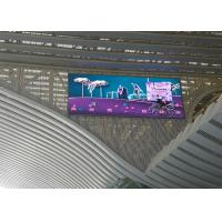 Large Outdoor LED Ideo Wall Displays 1R1G1B Pixel Configuration 10000nit Brightness Manufactures