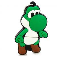 Quality Mario USB Flash Drive cartoon cool yoshi 4G Mario Dinosaur shaped 64G memory stick for sale