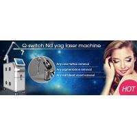 2015 latest CE approved beauty machine/qswich nd yag laser tattoo removal Manufactures