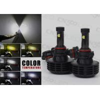 6000 Lumen Plug N Play H16 LED Headlight Kit  With 5 DIY Color Temperature Manufactures