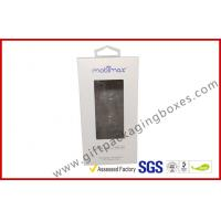 offset print paper box Card board packaging box with clear PVC window Manufactures