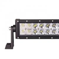 Waterproof 4x4 LED Driving Lights Bar Flood and Spot Beam , PC Lens Manufactures