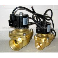 Musical Fountain Electromagnetic Solenoid Valve , Brass Water Solenoid Valve Manufactures