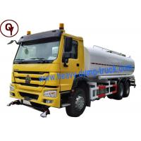 China Heavy Duty Sprayer Water Truck 6x4 Drive Type with 20000 Liter Water Tank Manufactures