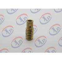 CNC Machining Custom Machining Services Small Brass Hollow Bolt For Electronic Equipments Manufactures