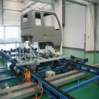 Plastic Component Automatic Line Painting Equipment For Motorcycle Manufactures