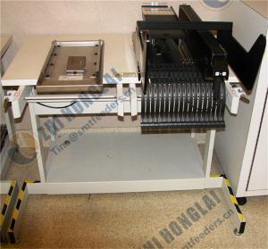 Universal instrument feeder bank storage table Manufactures