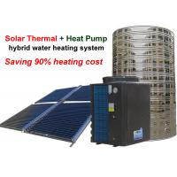 China Non Pressurized Solar Heat Pump Water Heater , Solar Thermal Water Heater 4.0 Cop on sale