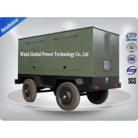 Vehicle AC 3 Phase Trailer Mounted Generator With Leaf Spring Suspension Structure Node Manufactures