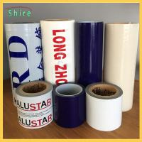 Removable Adhesive Transparent Film , Self Adhesive Clear Plastic Film For Cars Manufactures