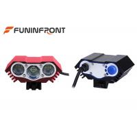 Quality 3000LMs LED Bicycle Headlight 8.4V Rechargeable Eye Mountain Bike Front Lights for sale