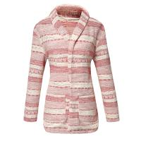 Red Irregular 100% Cotton Womens Jackets And Coats For Winter Manufactures