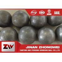 3 Inch Dia 20-1500 mm Forged and cast Grinding Steel Ball  Good Wear Resisitance Manufactures