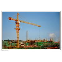 Self Erecting Construction Tower Crane With Steel Structure 4.25 - 80 m/min Hoisting Speed Manufactures
