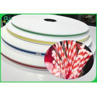 Buy cheap Environmental 60gsm 120gsm Printed Straw Paper Roll With Food Grade For Sorbets from wholesalers
