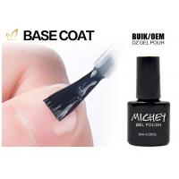 Private Label Nail Polish UV Base Coat Low Smell Good Adhesive High Tenacity Manufactures