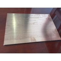 Quality Brushed Copper Composite Panel 2000mm Length High Intensity For Ceiling for sale