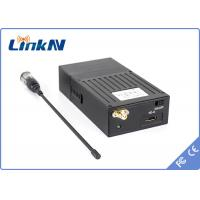 Quality Small QPSK NLOS 2KM Audio Video Wireless Transmitter Real Time Monitoring For Criminal Investigation for sale